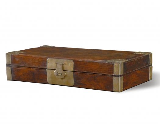 12bet代理铜包角文房盒